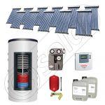 Colectoare solare cu tuburi vidate import China, Seturi panouri solare si boiler instant SIU 11x10-1000.66.2BI, Seturi colectoare solare cu tuburi vidate si boiler instant 1000 litri