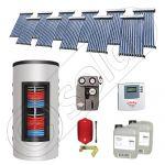 Colectoare solare cu tuburi vidate import China, Seturi panouri solare si boiler instant SIU 11x10-1000.66.3BI, Seturi colectoare solare cu tuburi vidate si boiler instant 1000 litri