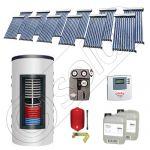 Colectoare solare cu tuburi vidate import China, Seturi panouri solare si boiler instant SIU 12x10-1000.66.2BI, Seturi colectoare solare cu tuburi vidate si boiler instant 1000 litri