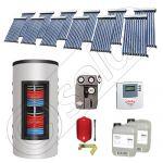 Colectoare solare cu tuburi vidate import China, Seturi panouri solare si boiler instant SIU 12x10-1000.66.3BI, Seturi colectoare solare cu tuburi vidate si boiler instant 1000 litri