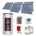 Set colectoare solare cu tuburi vidate fabricate in China, Pachete panouri solare si boiler instant SIU 5x20-1000.66.3BI, Seturi colectoare solare cu boiler instant 1000 litri