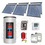 Set colectoare solare cu tuburi vidate fabricate in China, Pachete panouri solare si boiler instant SIU 6x20-1000.66.3BI, Seturi colectoare solare cu boiler instant 1000 litri