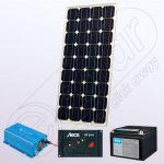 Kituri fotovoltaice monocristaline cu invertor IPM60W-180W-12V-5A-33Ah