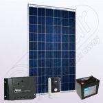 Kituri solare electrice off-grid pentru case cu invertor IPP200W-550W-8.8F-8A-76Ah