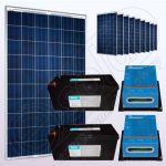 Kituri voltaice policristaline independente IPP200Wx10-VICMPPT40Ahx2-205Ahx2