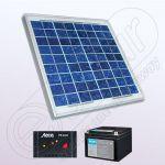 Sistem solar de sine statator pentru case IPP30W-12V-3A-33Ah