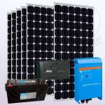 Sistem solar fotovoltaic cu invertor IPM200Wx6-1600W-Tarom245-45Ah-150Ah