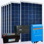 Sisteme fotovoltaice monocristaline cu invertor IPP200Wx7-1600W-Tarom245-45Ah-150Ah