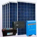 Sisteme fotovoltaice policristaline cu invertor IPP200Wx6-1600W-Tarom245-45Ah-150Ah