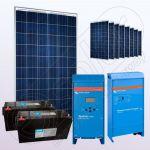Sisteme voltaice policristaline off-grid cu invertor IPP200Wx9-2000W-VIC70MPPT-150Ahx2