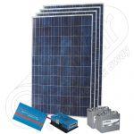 Kit fotovoltaic monofazat rezidential de 1kW putere instalata