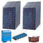 Kit solar fotovoltaic independent de 5kW putere instalata