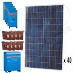 Kit solar monofazat de 10kW putere instalata