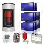 Panouri solare Idella si boiler Kombi set 13x1-1000.200.1KS