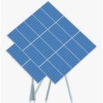 Panouri solare fotovoltaice pe trackere Orizont Uno 4.1 KWp