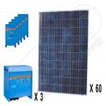 Sistem fotovoltaic off-grid trifazat de 15kW putere instalata
