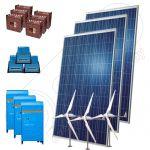 Kituri eoliene hibride off-grid 3600W-Hi-MTT