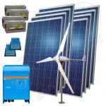 Sistem eolian hibrid off-grid 3KW-Hi-MVM