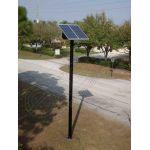 Stalpi de iluminat solar echipati complet PV-3M