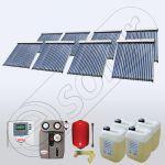 Colectoarele solare pentru apa menajera cu grup de pompare complet echipat SIU 8x20