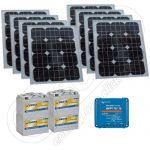 Generatoare solare portabile pentru pescuit 12V 800Wh