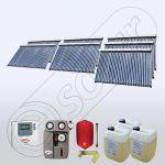 Kit de panouri solare pentru apa calda menajera pentru centrale termice SIU 7x30