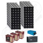 Kit incarcator solar mic mobil 220V 2.6kWh