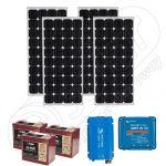 Kit solar portabil pentru camping cu invertor 220V 1060Wh