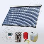 Pachet colectoare solare pentru apa calda cu controler electronic SIU 1x30