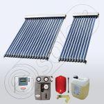 Pachetele panouri solare vidate pentru apa calda pentru acoperisurile inclinate SIU 1x10-1x18