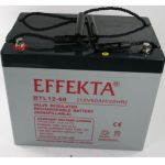 Baterii solare cu ciclu profund Effekta BTL 12-60 cu regim de descarcare lent