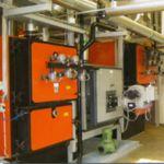 Cazan termic pe peleti Idella Flamma 1650 KW cu rezistenta la o temperatura de 90 grade Celsius