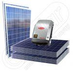 Instalatie fotovoltaica 2500 W on-grid Galvo 3.0-1