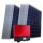 Instalatie fotovoltaica monofazata on-grid 4 kW putere instalata cu invertor SMA