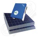 Instalatie fotovoltaica monofazica policristalina 2 KW Solarriver 3000TL