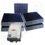 Instalatie solara de 5250 W cu injectare in retea Symo 5.0-3-M