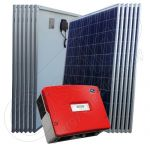 Instalatie solara monofazata rezidentiala 3 kW cu invertor SMA injectare in retea