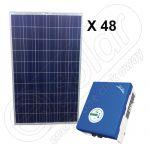 Instalatie solara on-grid pentru ANRE 12 KW SolarLake 12000TL