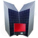 Instalatii solare fotovoltaice cu invertoare SMA injectare in retea 3.5 kW