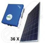 Kit centrala electrica on-grid 9,75 KW SolarLake 10000TL-INT