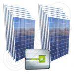 Kit fotovoltaic certificat on-grid cu invertor Piko Kostal 3.0 monofazat