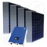 Kit solar cu injectare in retea 6 KW SolarLake 7000TL