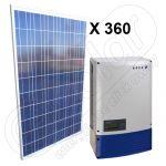 Kit solar energie electrica fotovoltaica 90 KW 3x Powador 30.0