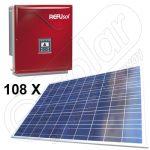Kituri fotovoltaice cu productie medie de 90 KWh energie livrabila in retea Refusol 023k