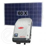 Kituri solare fotovoltaice cu injectare in retea de 15 KW putere instalata Symo 15.0-3-M