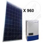 Sisteme fotovoltaice 240 KW cu injectie la retea on-grid 4x Powador 60.0