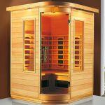 Cabina de sauna cu infrarosu