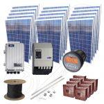 Instalatie fotovoltaica stand alone de 3.75kW putere instalata cu montaj si manopera incluse la cheie