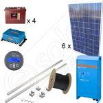Instalatie la cheie cu panouri fotovoltaice ce produc 5kWh media zilnica anuala cu manopera inclusa