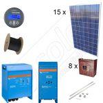 Instalatii fotovoltaice la cheie cu putere instalata de 3,75kW si montaj inclus